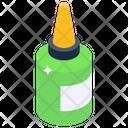 Mucilage Glue Bottle Adhesive Glue Icon