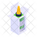 Glue Bottle Glue Box Stationery Icon