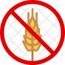 Gluten Wheat Allergy Icon