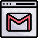 Network Communication Email Icon