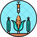 Gmo Genetically Modified Organism Genetic Injection Icon