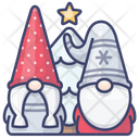 Gnome Holiday Christmas Icon