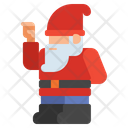 Gnome Christmas Holiday Icon