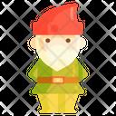 Gnome Man Person Icon