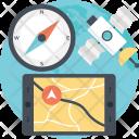 Gnss Navigation Satellite Icon