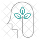 Green Think Mind Icon