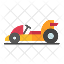 Go Kart Racing Car Small Car Icon