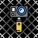 Underwater Video Camera Icon