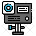 Action Camera Lens Icon