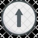 Go Straight Icon
