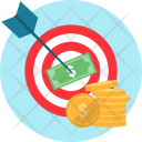 Goal Target Money Icon