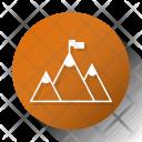 Goal Mountain Startup Icon