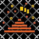 Goal Flag Aim Icon