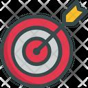 Goal Target Seo Icon