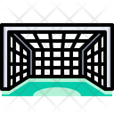 Goal Net Goalpost Icon