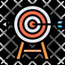 Goal Target Achieve Target Icon