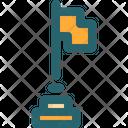 Goal Flag Purpose Icon