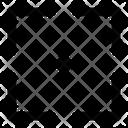 Shutter Icon Arrow Icon Shutter Icon