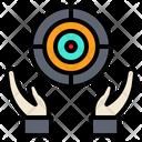 Goal Objective Destination Icon