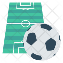 Goal Soccer Pitch Icon