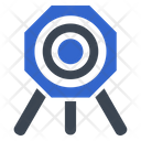 Bullseye Goal Target Icon