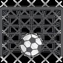 Goal Ball Soccer Icon