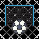Soccer Football Goal Icon