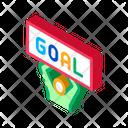 Goal Man Soccer Icon