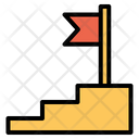 Target Flag Goal Icon