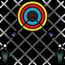 Goal Aim Business Icon