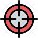 Goal Bulls Eye Target Icon