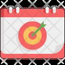Goal Target Success Icon
