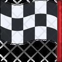 Goal Finish Flag Finish Line Icon