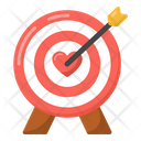 Target Board Dartboard Archery Icon