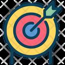 Goal Target Dartboard Icon
