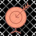 Goal Aim Arrow Icon
