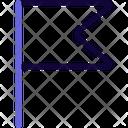 Goal Flag Icon