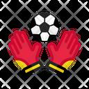 Goal Keeper Football Soccer Icon