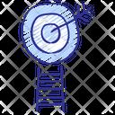 Goal Target Arrow Icon
