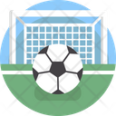 Sports Soccer Goal Post Icon