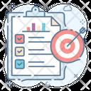 Business Success Business Goals Business Plan Icon