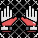Goalkeeper Gloves Soccer Icon