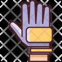 Goalkeeper Gloves Football Soccer Icon