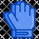 Gloves Football Soccer Goalkeeper Equipment Icon