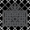 Soccer Gate Football Icon