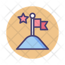 Goals Completion Completion Flag Icon