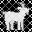 Goat Zoo Animal Icon