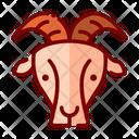 Goat Faming Animal Mammal Icon