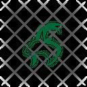 Goat Design Icon Icon