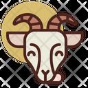 Goat Pet Animal Icon